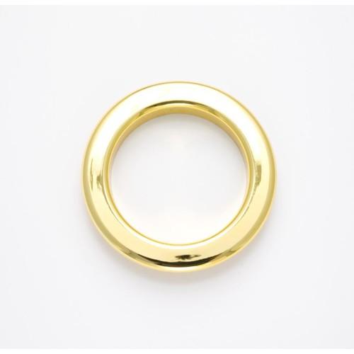 50 x 40mm Eyelet Rings Gold (ZMEYEGLD)