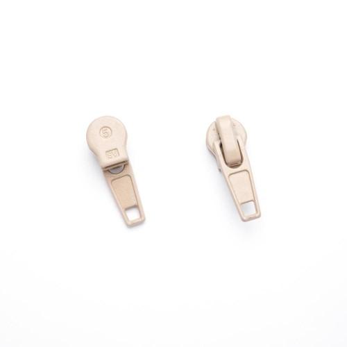 100 x Zip Sliders No 5 Beige (ZS5)